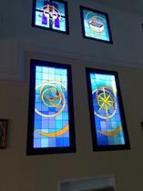 grandi finestre in basso : 1 splendore di gloria - 2 stella del mattino